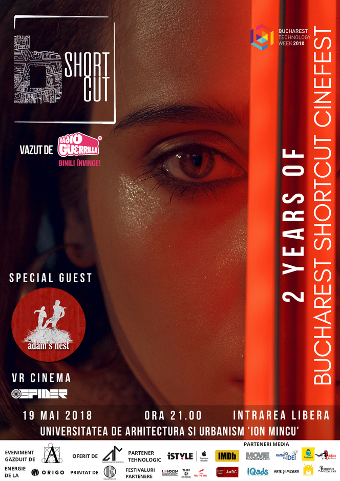 2 ani de Bucharest ShortCut Cinefest - Come along for a journey!