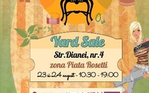 Yard Sale / 23-24 august @ Dianei 4