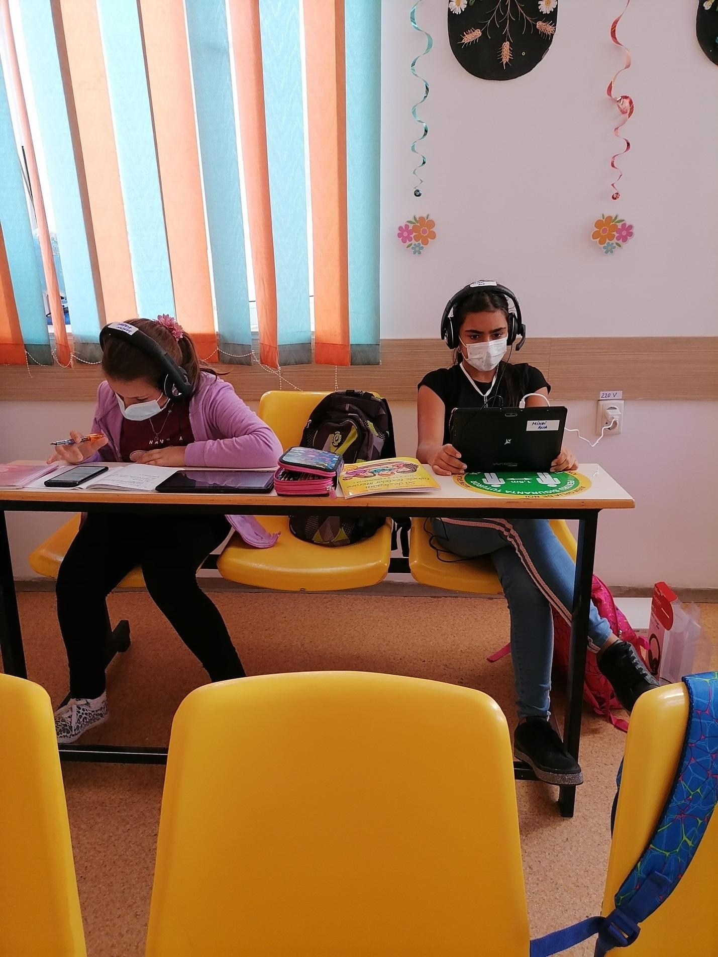 Sprijin educațional formal și nonformal pentru copiii aflați în dificultate/condiții vulnerabile