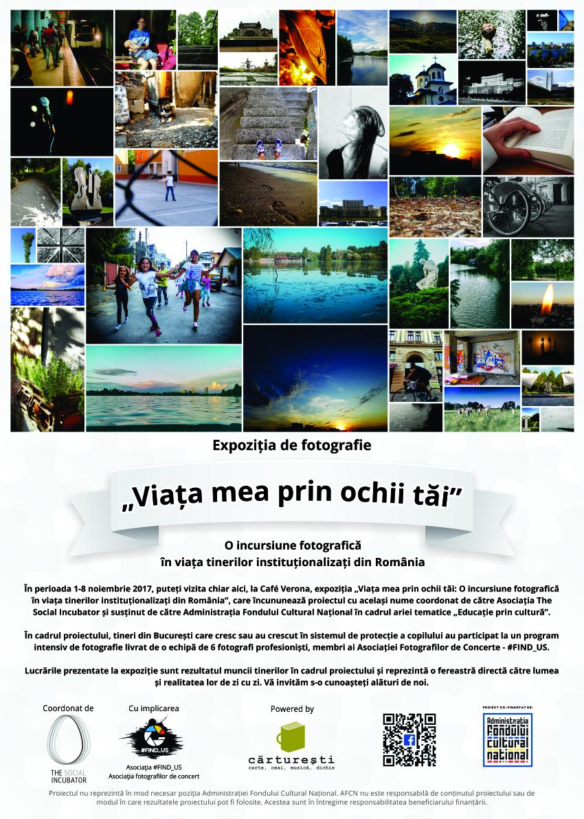 Viata mea prin ochii tai: O incursiune fotografica in lumea tinerilor institutionalizati din Romania
