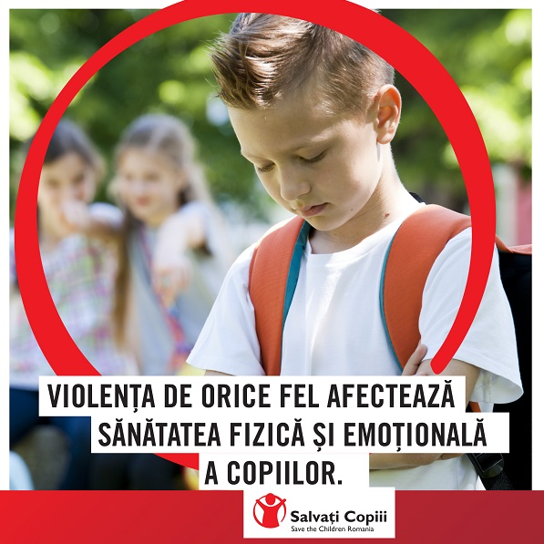 Bullying-ul in randul copiilor - Studiu sociologic la nivel national