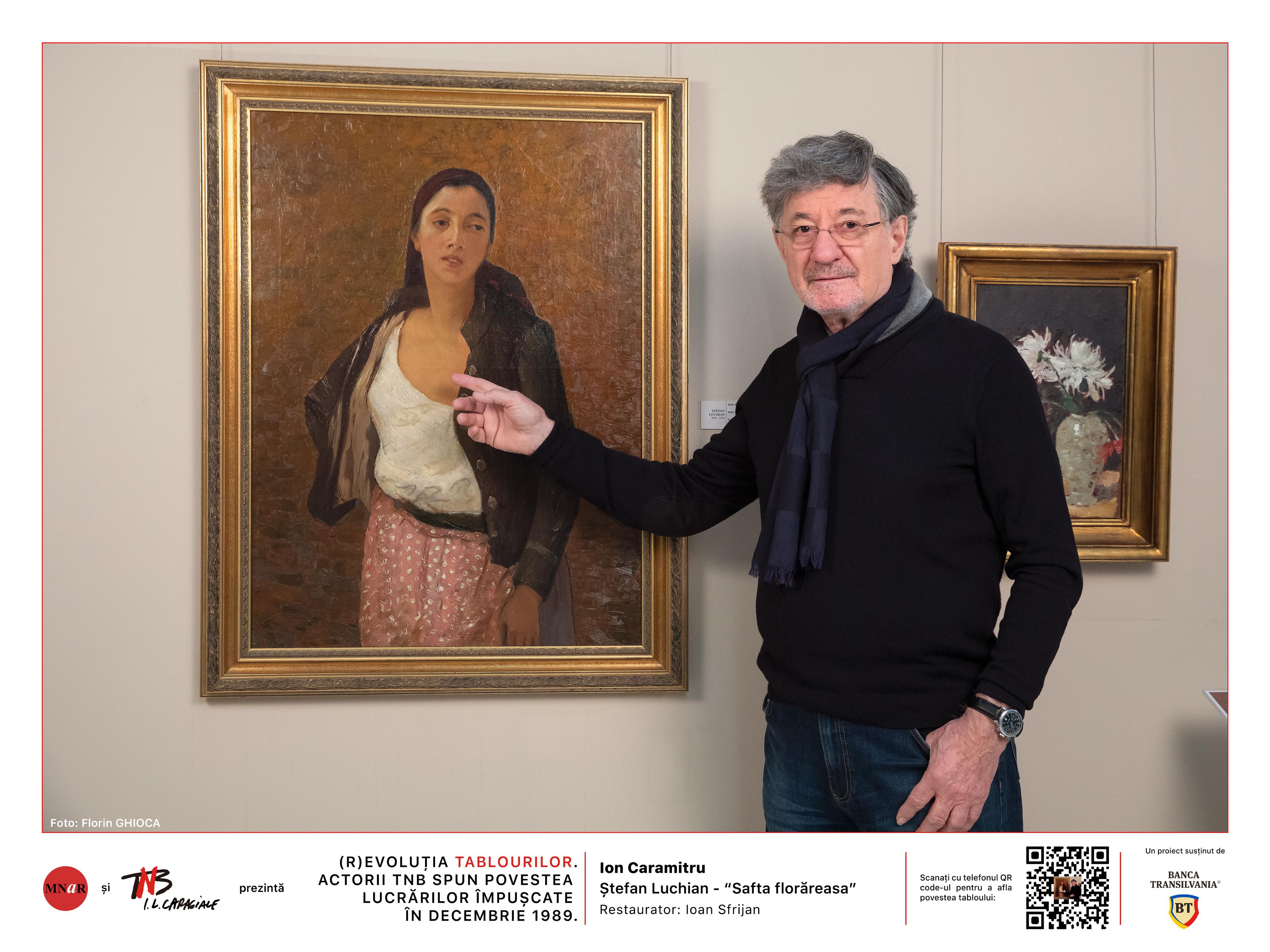 """(R)evoluția tablourilor. Actorii TNB spun poveștile lucrărilor împușcate în decembrie 1989"""""""