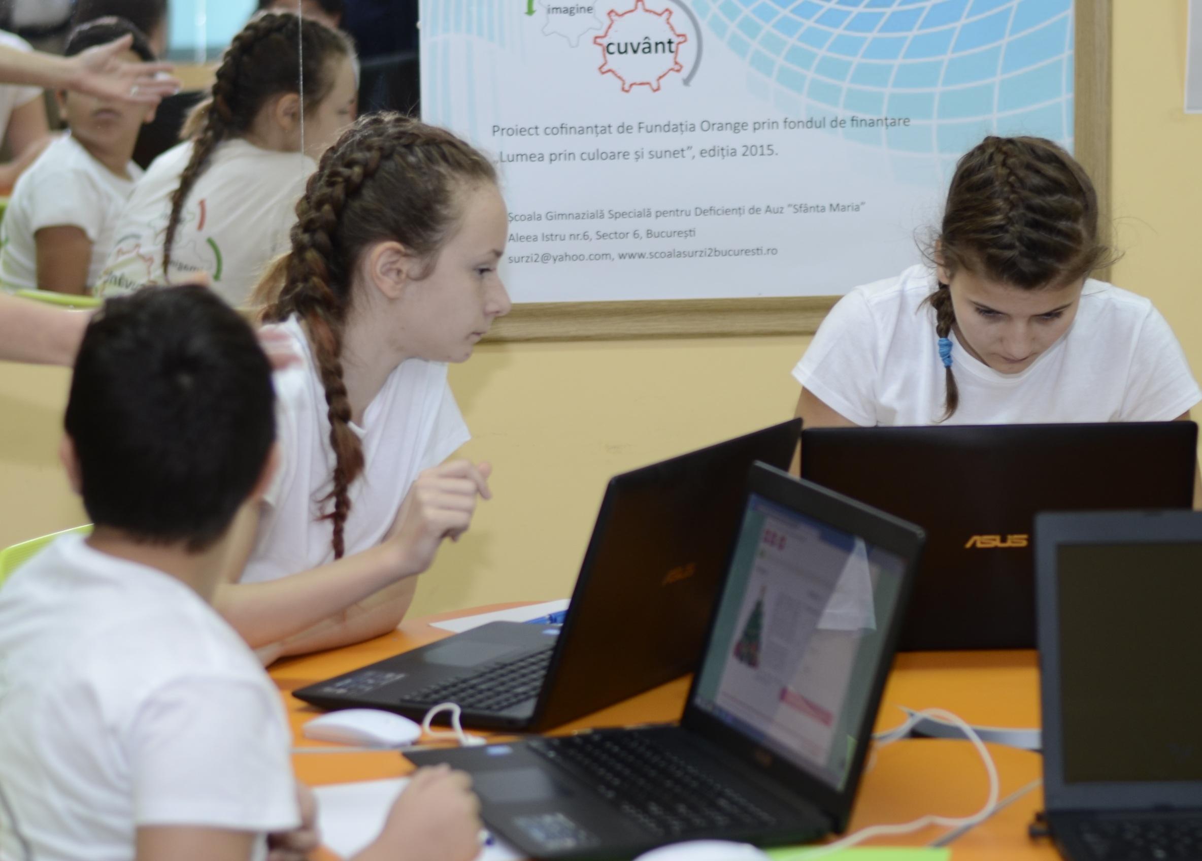SEMN - CUVANT - IMAGINE (SWIm - Comunicare fara bariere pentru elevii cu deficiente de auz