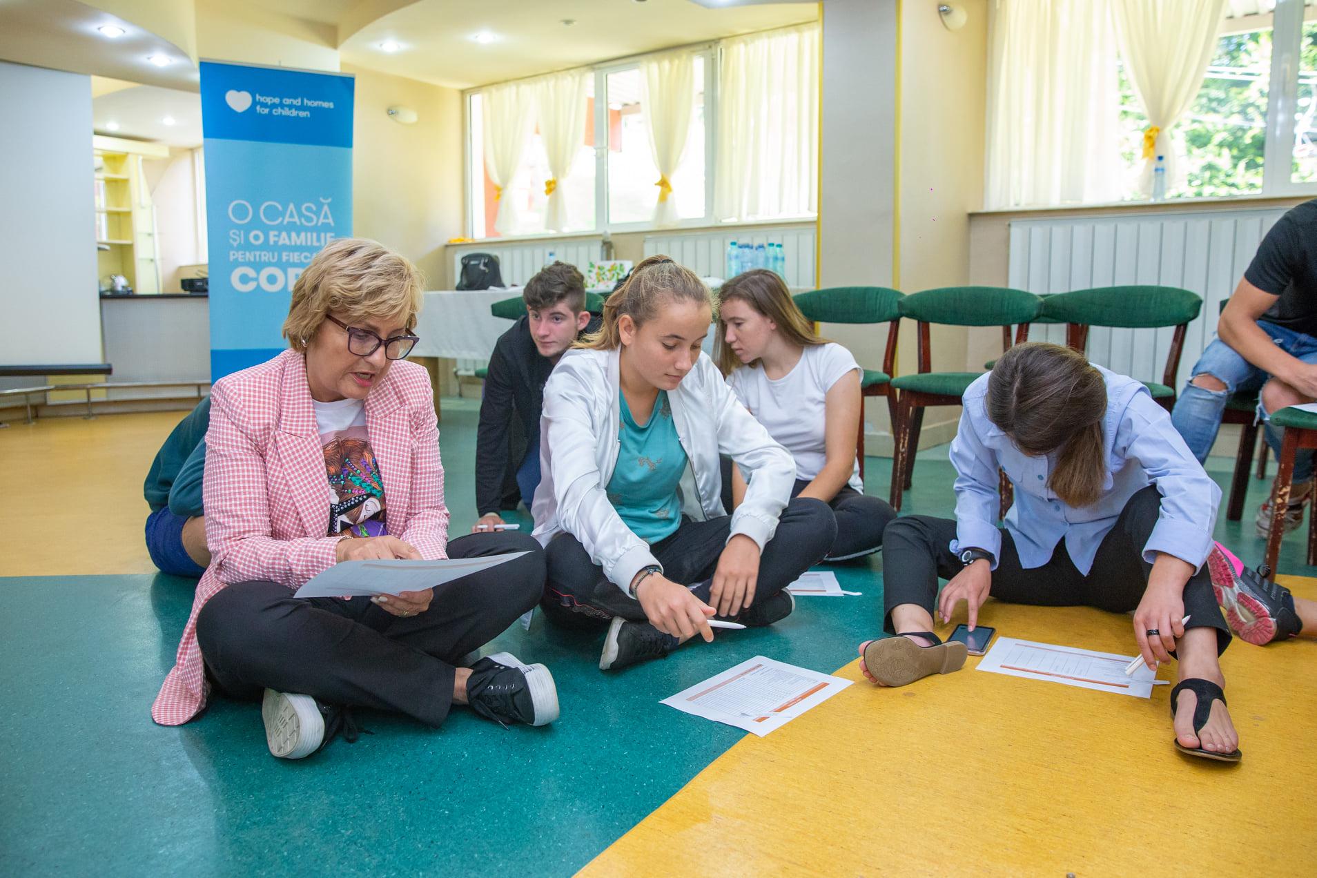 Integrarea socio-profesionala a tinerilor care parasesc sistemul de protectie a copilului