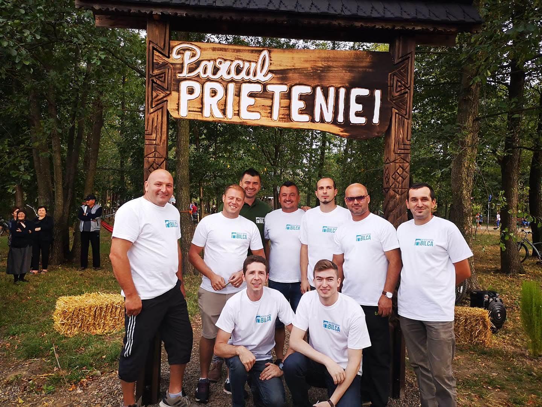 Parcul Prieteniei - povestea construirii unui parc de la zero, de către cetățenii comunei