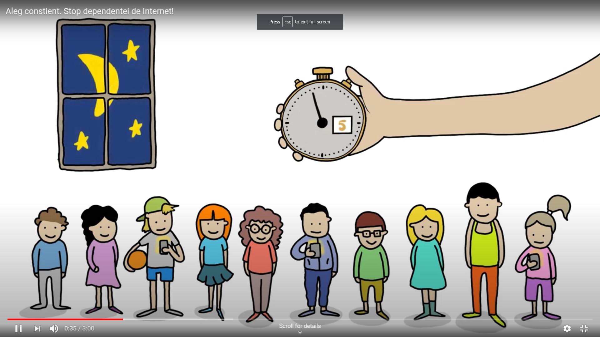 Stop dependenței de Internet! Joc și joacă în era digitală.