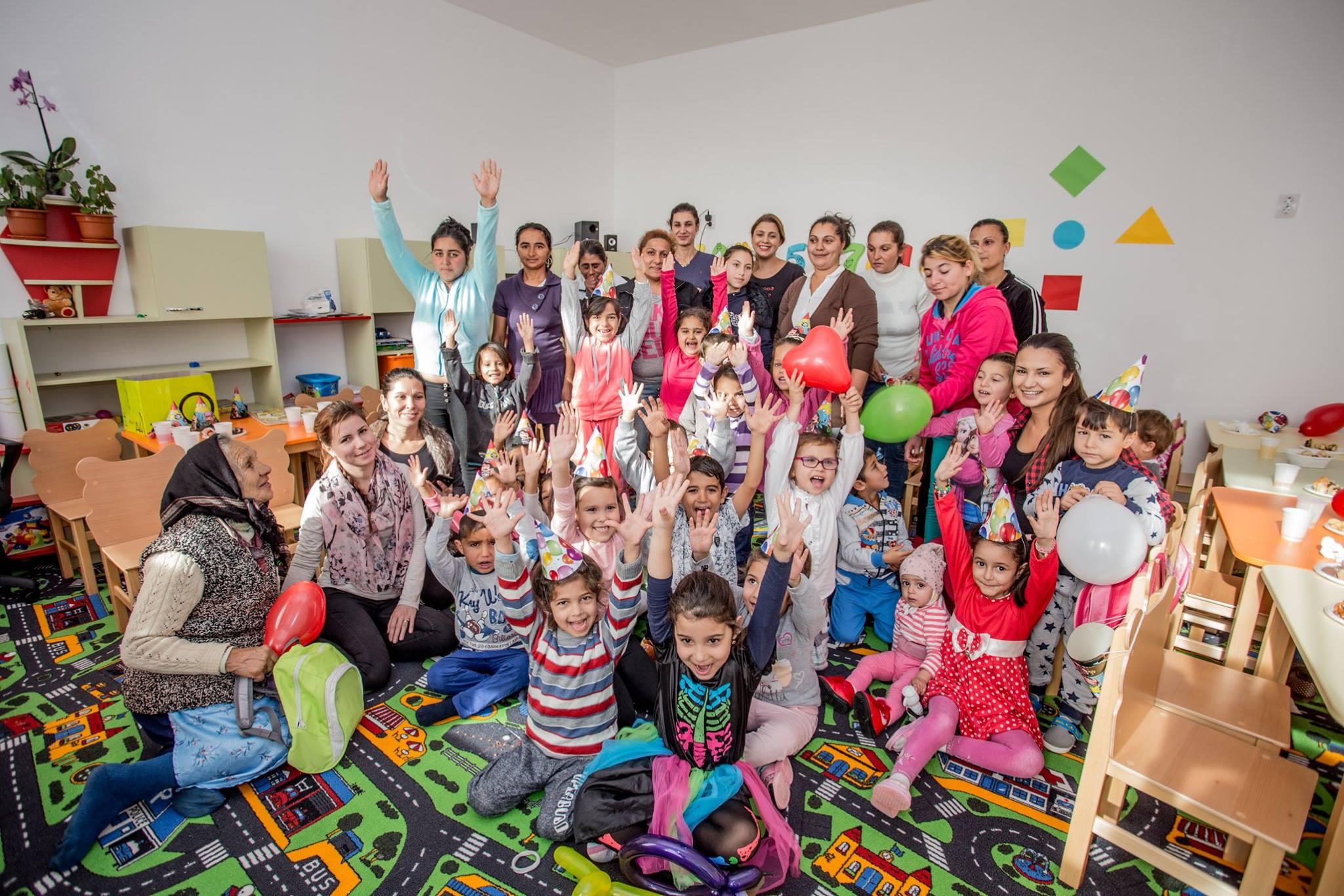 Pe locuri, fiti gata, start! - cresterea rezultatelor privind dezvoltarea timpurie a copiilor romi