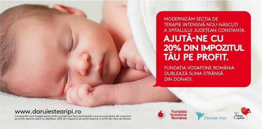 Reconstrucția și modernizarea Secției de terapie intensivă neonatală și a Compartimentului de prematuri Constanța