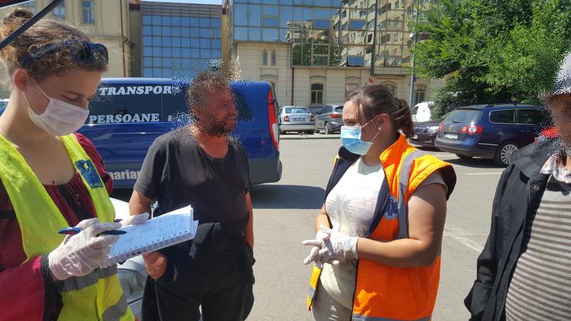 Locuire de urgență și servicii medico-sociale pentru persoanele fără adăpost din Mun. Iași, pe durata stării de urgență