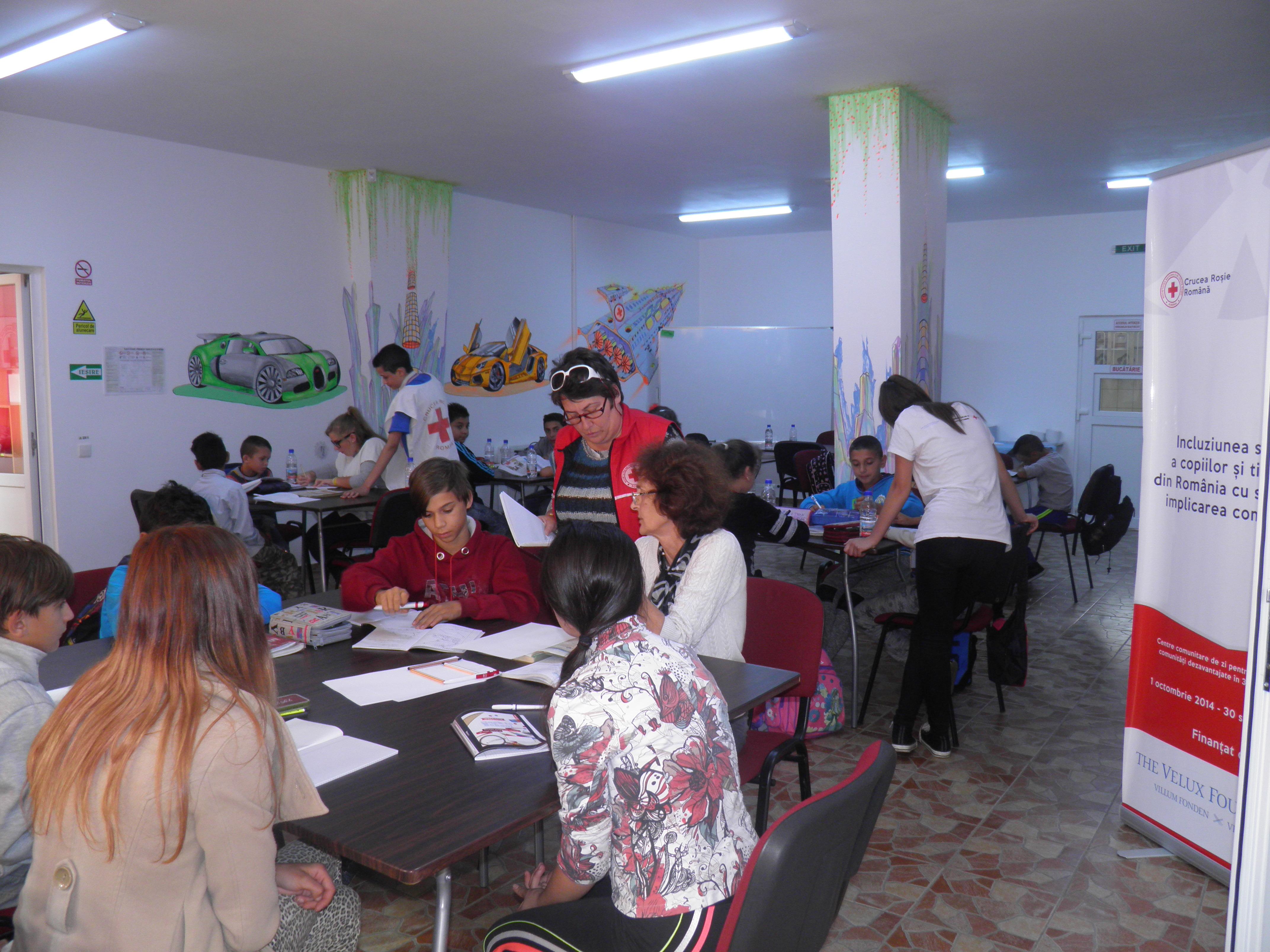 Centre de zi pentru copii si tineri din comunitati dezavantajate