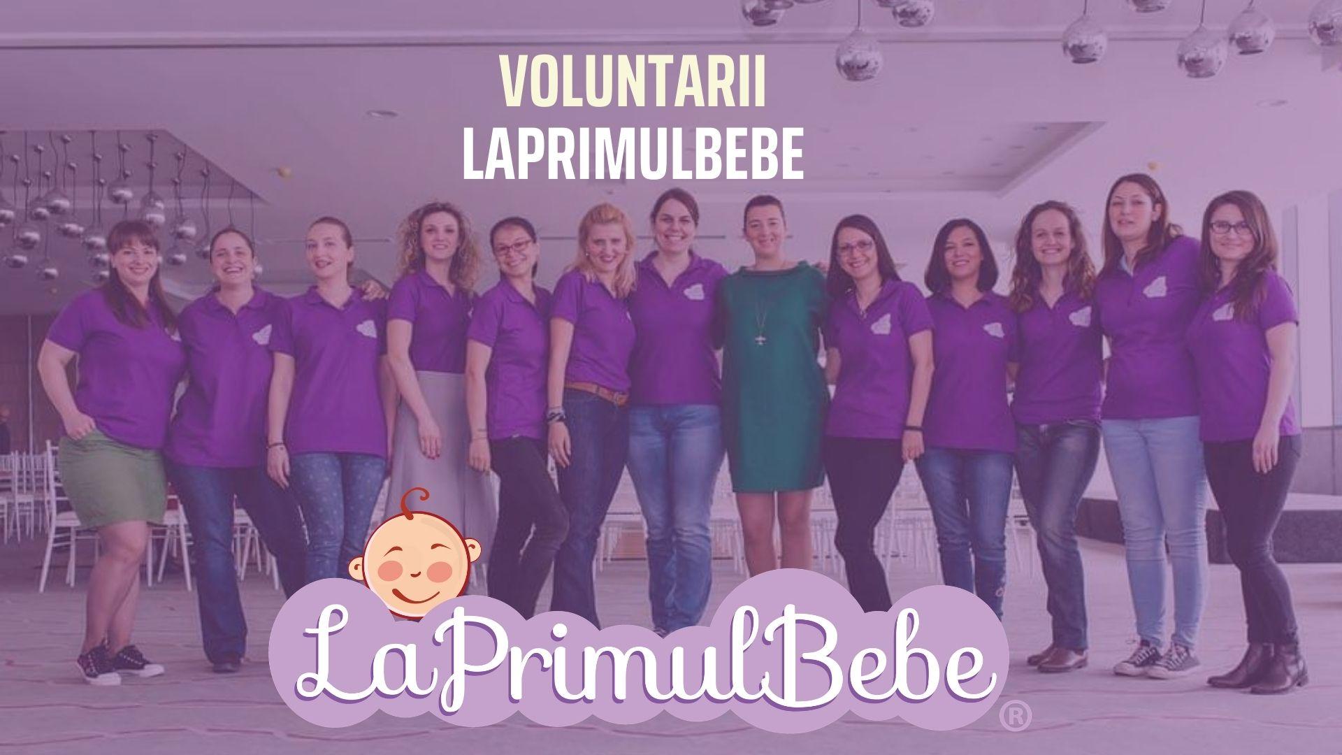 Programul de voluntariat pentru mame LaPrimulBebe