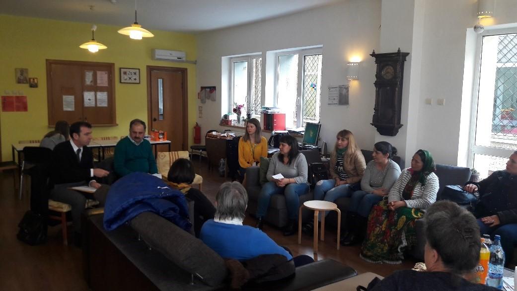Initiative in adaugarea componentei suportului juridic in cadrul serviciilor de ingrijire paliativa in Romania