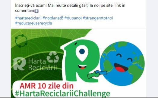 Harta Reciclarii 2020 - educatie online pentru mediu