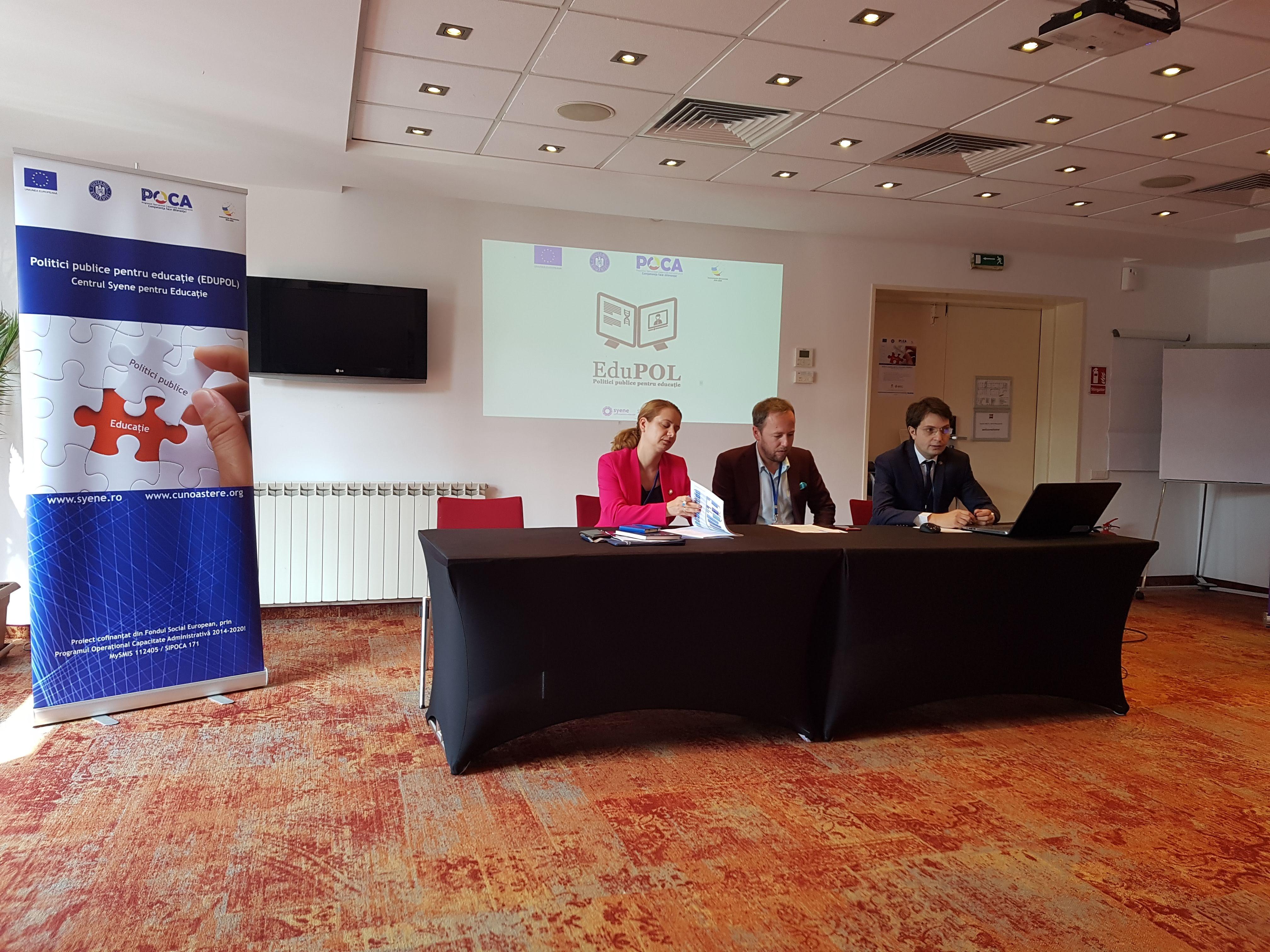 Politici publice pentru Educație (EDUPOL)