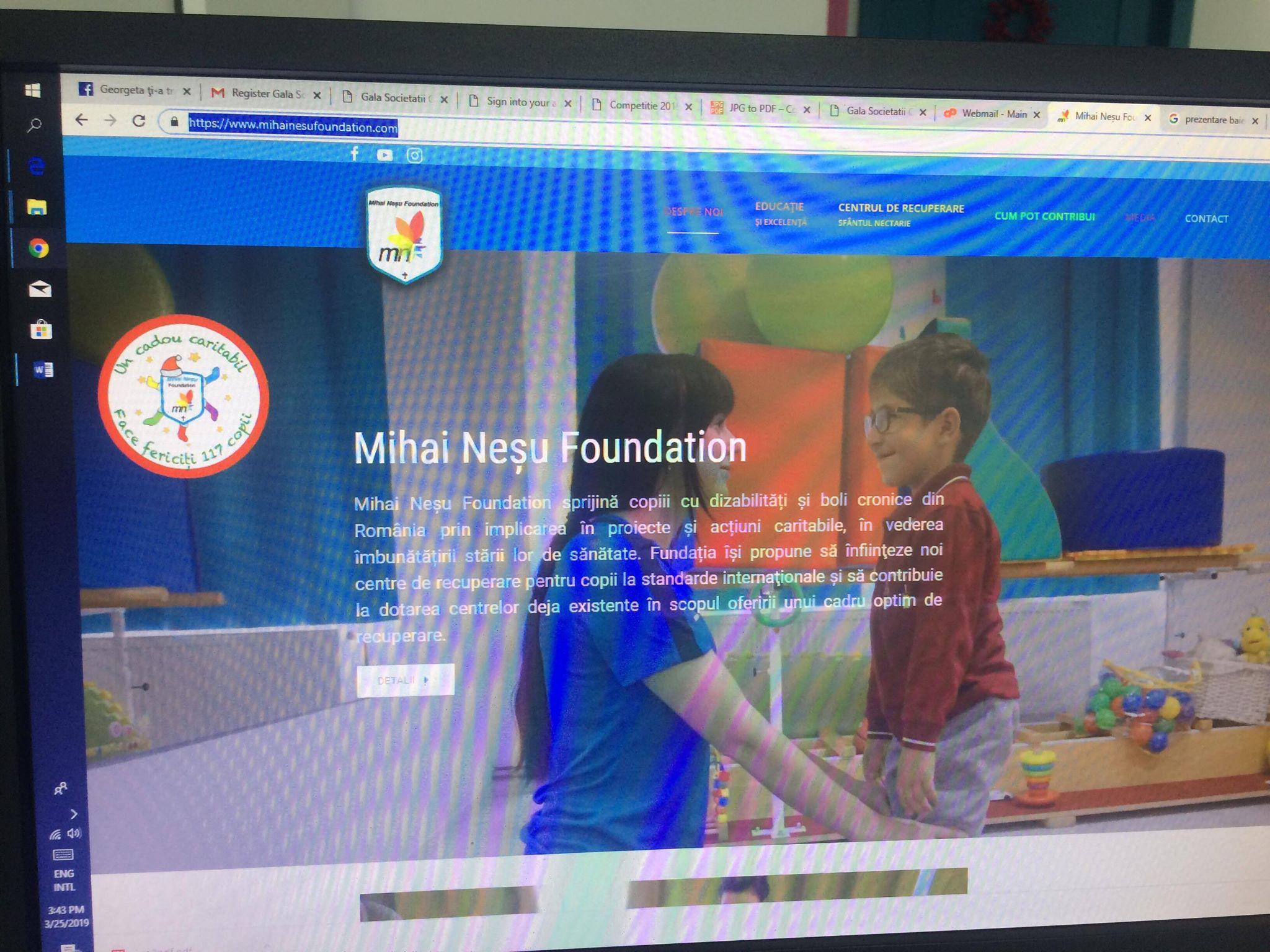 Centrul de recuperare pentru copii cu dizabilitati neuromotorii Sfantul Nectarie