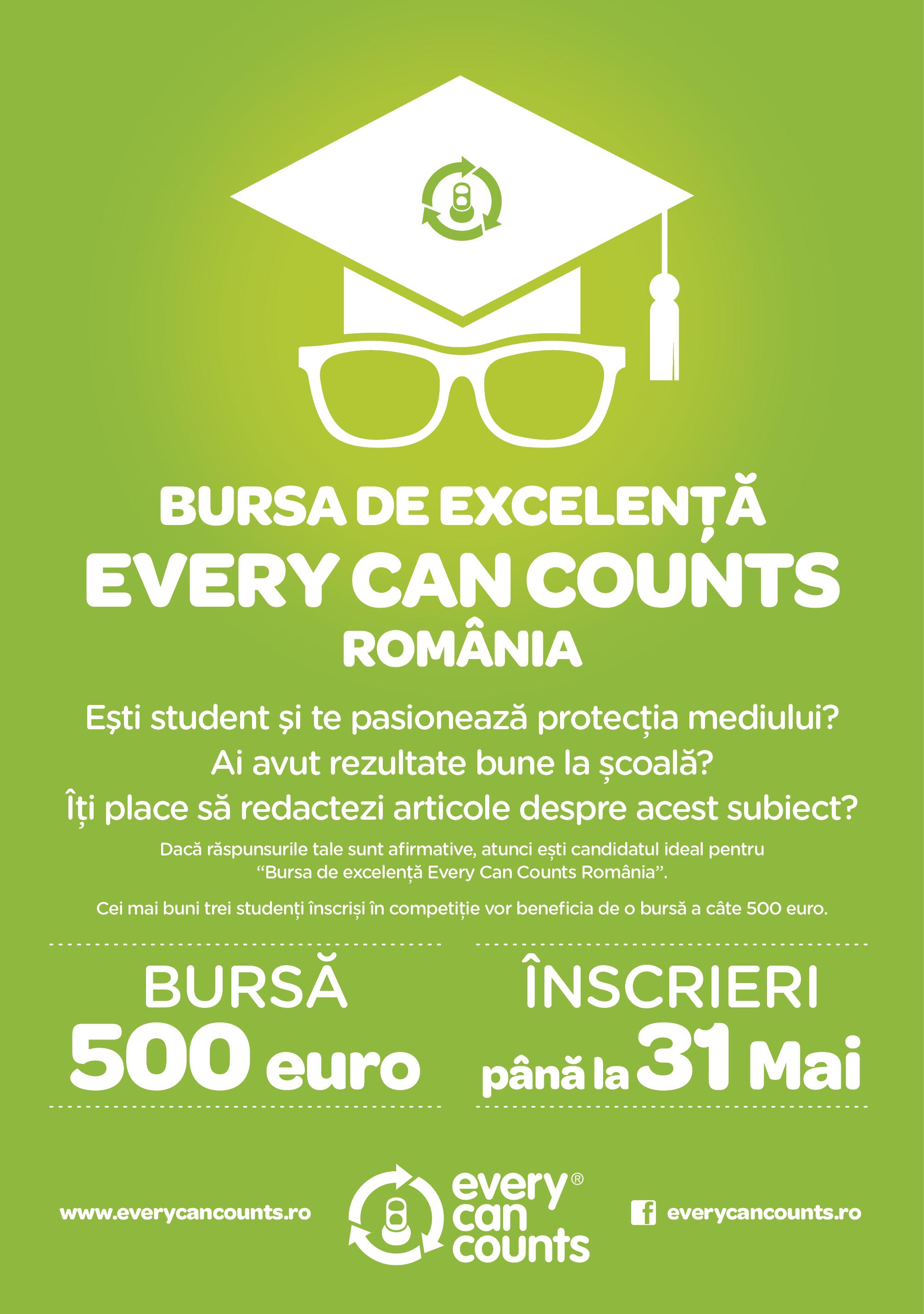 Bursa de Excelenta Every Can Counts