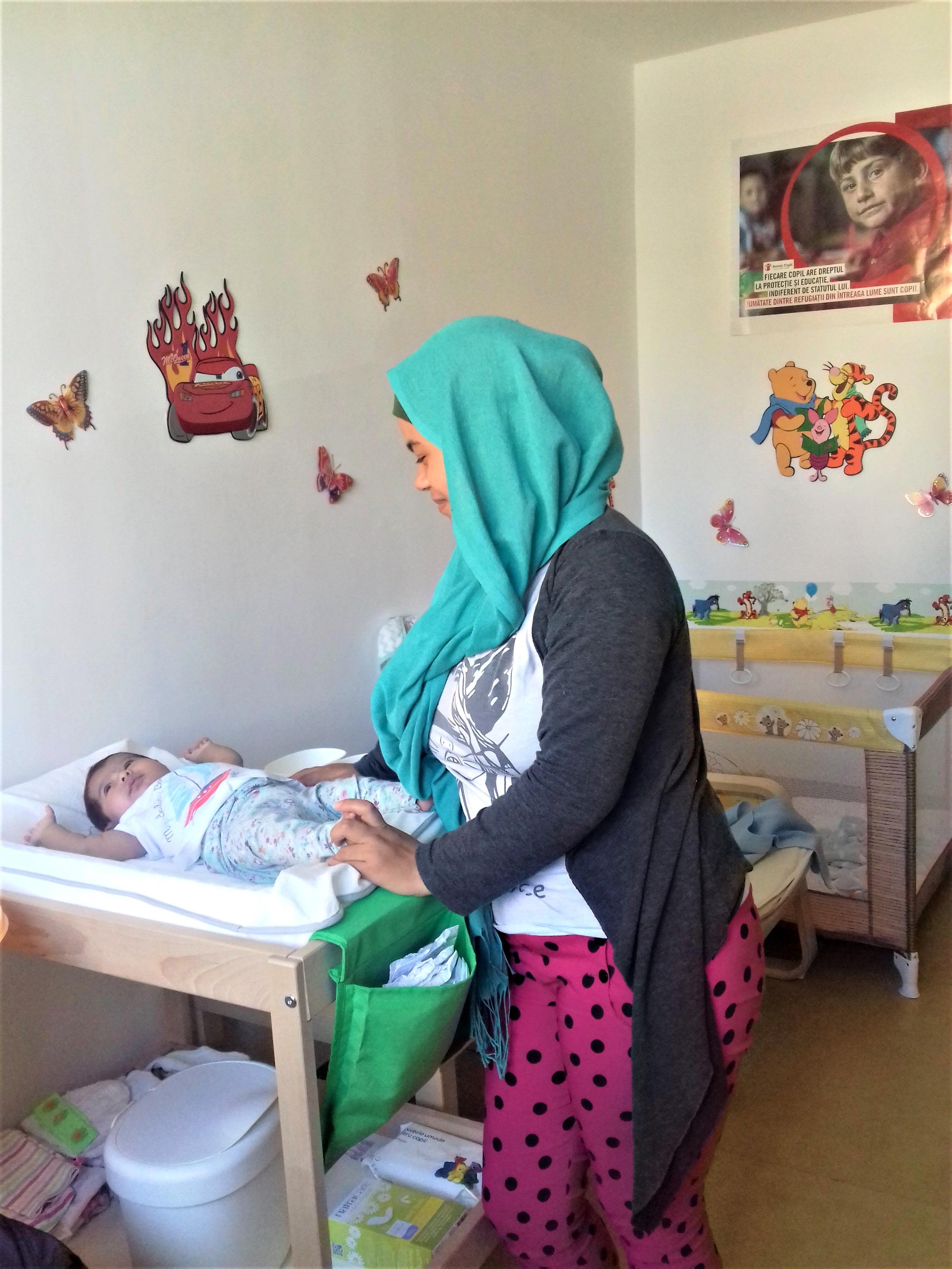 Asistenta copiilor solicitanti de azil si refugiati