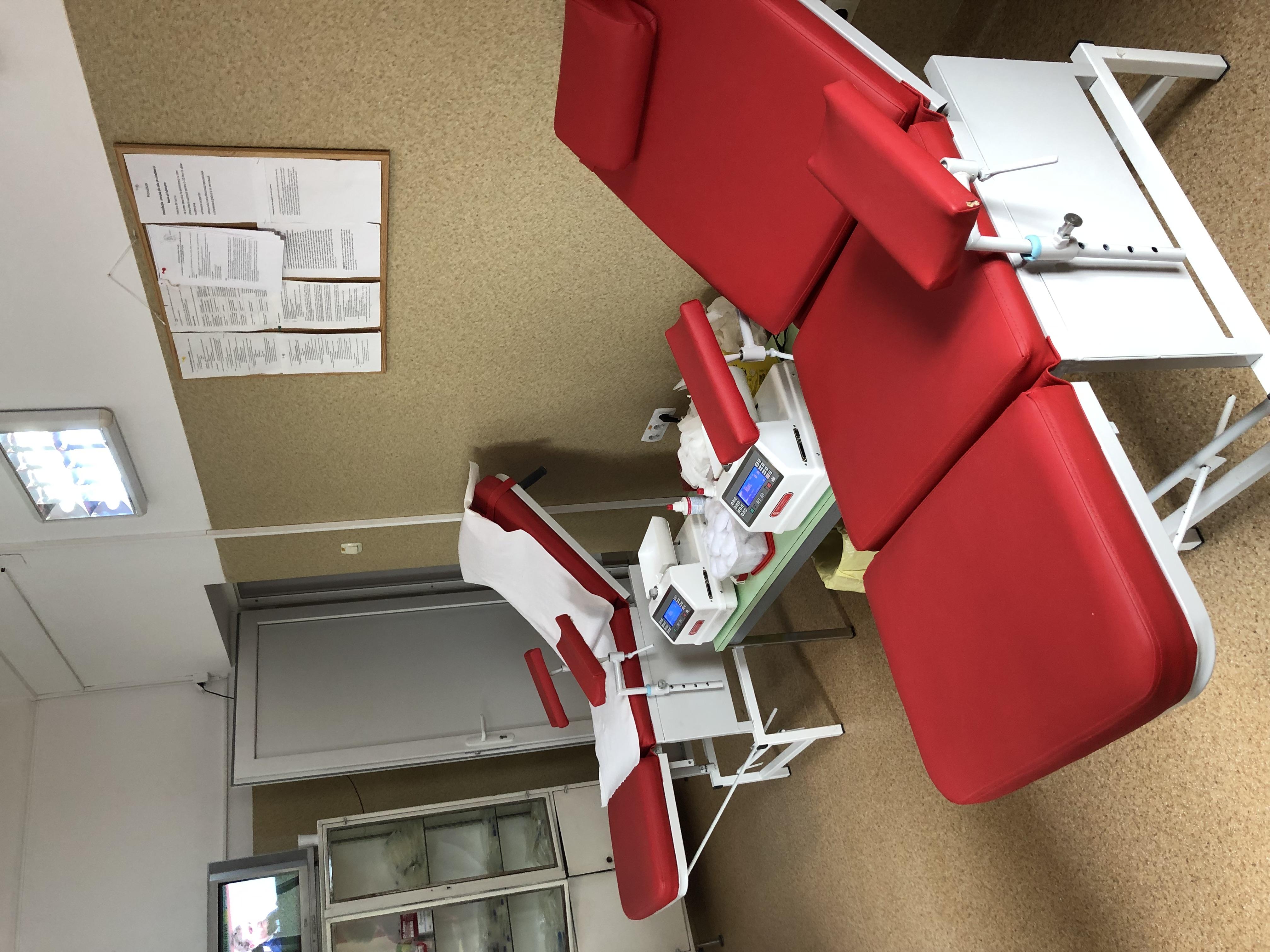 O sansa pentru viata - renovarea centrelor de transfuzie sanguina