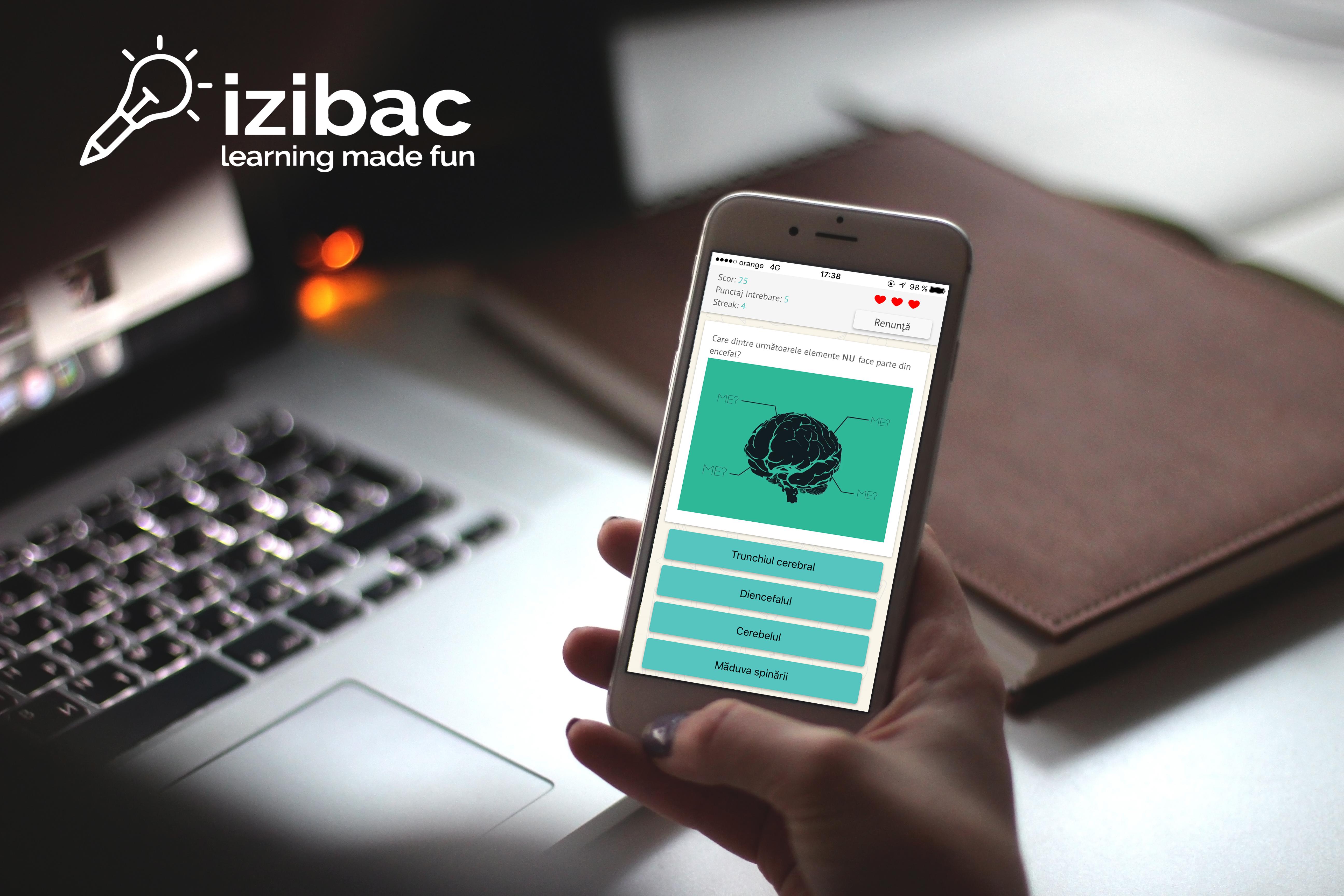 IziBac - Redăm plăcerea învățatului