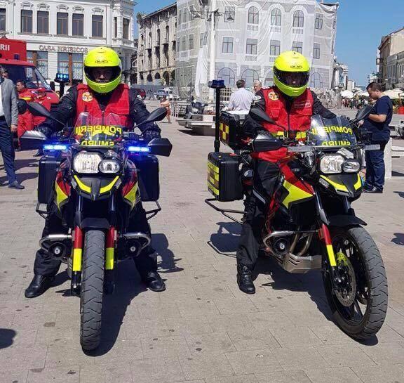"""""""Paramedicii SMURD - mai rapizi, mai eficienti"""" - salvarea de vieti omenesti cu ajutorul motocicletelor SMURD - extindere proiect in Cluj si Constanta"""
