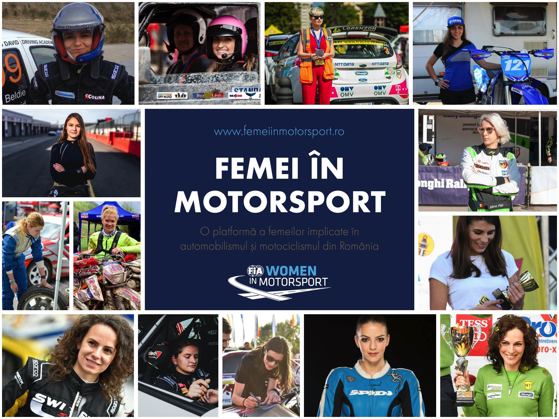 Platforma online Femei in Motorsport