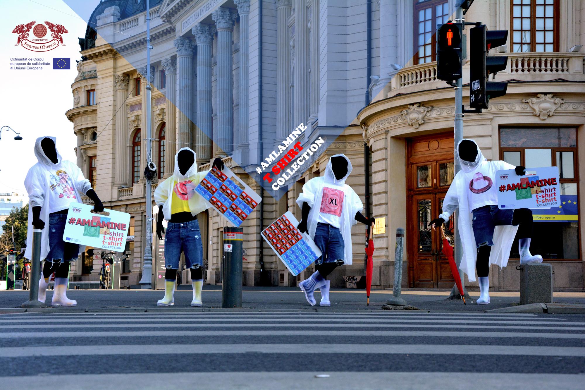 Tineri cu CAP! - prevenire HIV pentru liceeni si prima colectie de tricouri impotriva HIV!