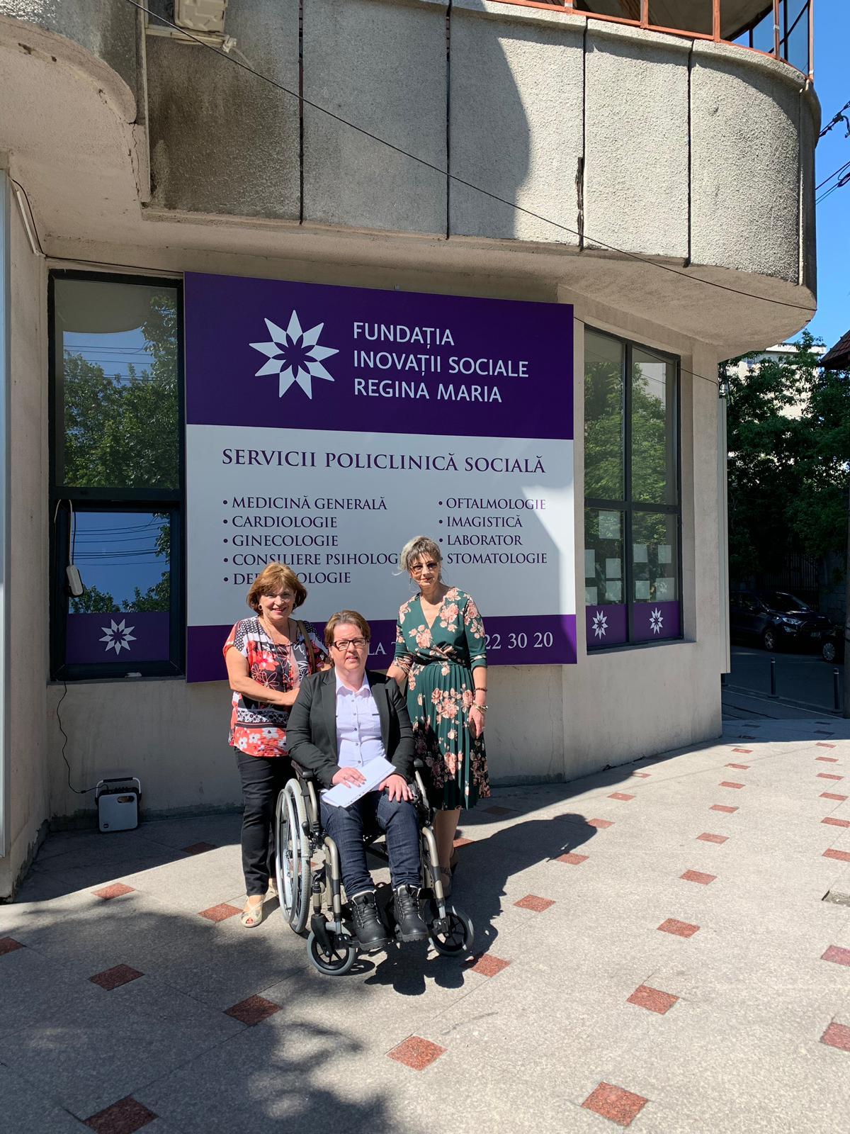 Cabinet stomatologic pentru persoane cu dizabilitati
